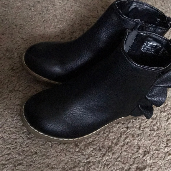 Gap kids Other - Black ankle boots